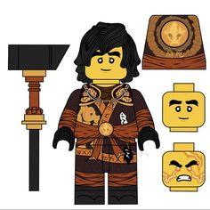 Lego Ninjago Lloyd, Lego Ninjago Movie, Lego Custom Minifigures, Mortal Kombat 9, Ninjago Cole, Lego Guns, Arte Ninja, Lego Dc, Lol League Of Legends