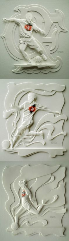 Soccer Crafts, Soccer Art, Football Art, Paper Sculptures, Small Sculptures, Soccer Wedding, Mother Card, Man Cake, Sculpture Projects