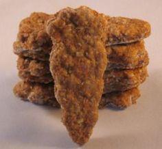 Low fat Carrot apple sauce dog treats