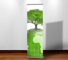 Angie Retractable Banner Stand