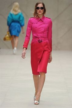 burberry spring 2013-i LOVE this.