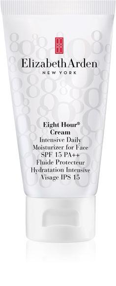 Elizabeth Arden Eight Hour Cream Intensive Daily Moisturizer For Face Elizabeth Arden Eight Hour Cream, Aloe Vera, Moisturizer, Face, Moisturiser, The Face, Faces, Facial