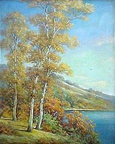 Landscape With White Birches