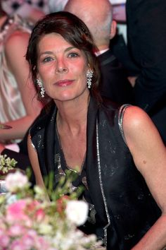 Princess Caroline at the Moncao Rose Ball 2012