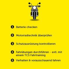 Frühlings-Tipps für Motorradfahrer