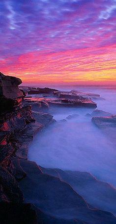 Sunrise in Australia.