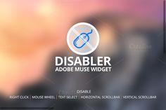 Check out Disabler Widget -Adobe Muse by Nakshatra on Creative Market