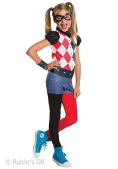 Harley Quinn DC Comics Superhero Girls Costume - Superhero at Escapade™ UK