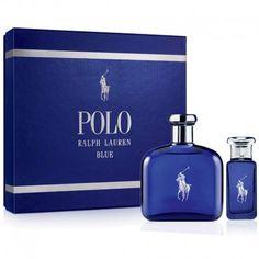 Estuche de regalo del #perfume para hombre Ralph Lauren Polo Blue de #RalphLauren  https://perfumesana.com/polo-blue-ralph-lauren/1278-ralph-lauren-polo-blue-estuche-edt-125-ml-spray-edt-30-ml-spray-3605971655272.html
