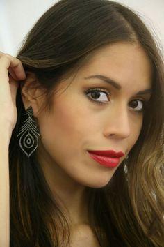 Fire candels earrings  www.nesluxury.com