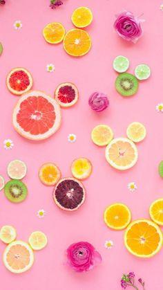 tutti frutti background