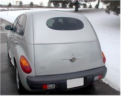 Chrysler PT Cruiser Accessory - Willpak Industries Chrysler PT Cruiser Classic Rear Oval Window Panel                                                                                                                                                     Mais