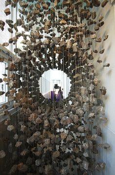 Stone art inspiring a display idea... by Korean artist Lee