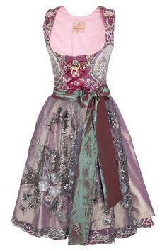 Purple Checkered Dirndl Dress Austrian Gown Alpen Style German Bavarian Dress Velvet Corset Dress Folk Sarafan Oktoberfest Dress XS Size