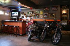 garage makeover ideas | Harley garage decor - The Garage Journal Board