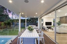 seamless transition from indoor to outdoor living