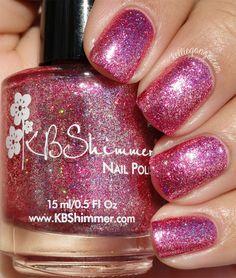 KBShimmer Pink Tourmaline // @kelliegonzoblog