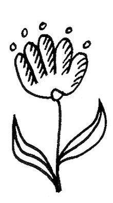 Eine Auswahl verschiedener Doodle Blumen für Dich zur Inspiration!