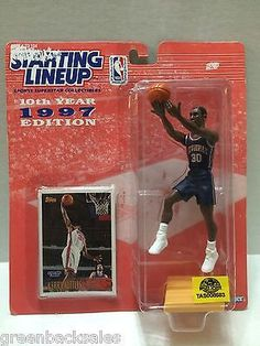 (TAS008583) - 1997 Edition Starting Lineup - NBA - Kerry Kittles  30 NJ  Nets - The Angry Spider Vintage Toys   Collectibles Store 1d3b52750