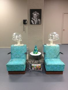 Vintage dryer chairs #serenityhairandnailsholt #holtmi & Loading | A Do or Dye Hair Stylist | Pinterest | Vintage salon Hair ...