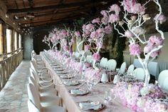 Tavolo imperiale fresco e profumato come un giardino in primavera | Cira Lombardo Wedding Planner