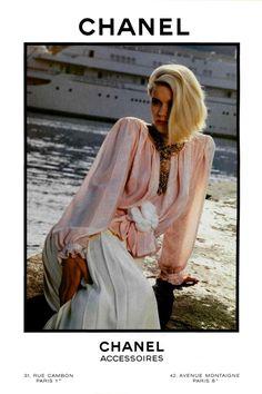 vintage fashion ads +chanel   JAZZ AGE   CHANEL     Chanel 1980s Vintage Fashion Advertising