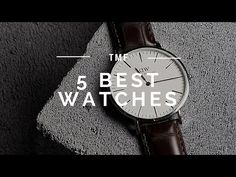 5 Best Watches For Any Style Best Watches For Men, Cool Watches, Steve King, Beautiful Watches, Mens Fashion, Itu, Youtube, Accessories, App Store