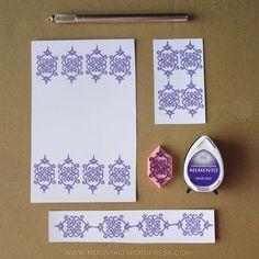islamic art geometric arabic stamp carving block - ختم نقوش اسلامية Stamp Carving, Grape Jelly, My Stamp, Islamic Art, Gallery Wall, Ink, Frame, Decor, Dekoration