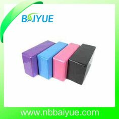 High Quality 3 X6 X9 Body Building EVA Foam Block Kind : Yoga Block. Material : EVA Foam. Color : Custom. Age : Adult. Colors : Any Color Customize. Model No. : Byyb100. Applications : Yoga, Pilate, Gymnastics,Fitness. Packing : Each Shrinks with Film. OEM : Yes. Smaple Time : 2-3 Days. Weight : 200g. MOQ : 50 PCS. Logo : Customized. High Quality 3 x6 x9 Body building Eva Foam Block Product Details: Prodcut Features: Sturdy, durable and lightweight Dense foam for superior stability Com