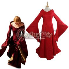 Game of Thrones Cersei Lannister Red Dress Cosplay Costume For Adult Women Halloween Custom Made D0918  //Price: $US $139.00 & FREE Shipping //     #gameofthrones #gameofthronestour #gameofthronesfamily  #starks