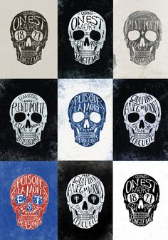 Skulls & Quotes by BMD Design