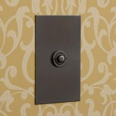 Antique Bronze Push Button