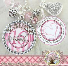 SWEET 16 Gift Personalized Name Necklace or by onceuponasugartree, $23.50