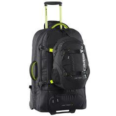 Caribee Fast Track 85 Black Wheeled Backpack Rolling Bag c4bcfcfd0fac5