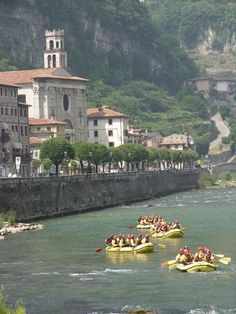 Rafting a Valstagna