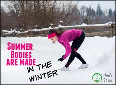 I know it feels like winter will never end, but consider it training season! Are you ready for summer? www.AndsTrim.com