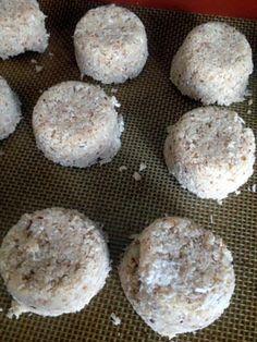 Raw Coconut Macaroons!