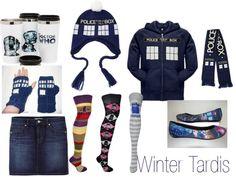 """Winter Tardis"" by anjilisladen on Polyvore"