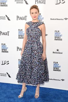 Brie Larson in Chanel at the Film independant spirit awards 2016.