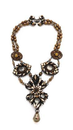 Erickson Beamon Golden Rule necklace
