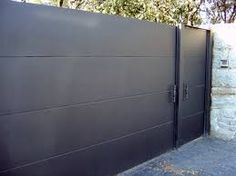 Imagen relacionada Front Gates, Entry Gates, Fence Doors, Garage Doors, Boundary Walls, Sliding Gate, Driveway Gate, Gate Design, Patio