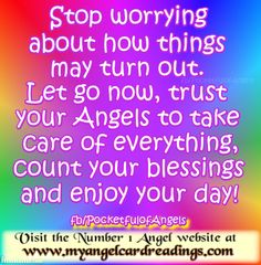 The FREE Daily Angel Affirmation Cards are here: http://www.myangelcardreadings.com/affirmations