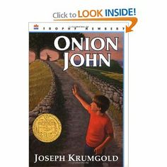 Onion John is a Newberry Award winning book that tells the story of a true friendship between 12-year-old Andy and an immigrant handyman--a friendship which is almost wrecked by the well-intentioned people of the small town that they both call home.