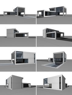 country house on Behance Model House Plan, Model Homes, House Floor Plans, Flooring, How To Plan, Cool Stuff, Country, Architecture, Behance