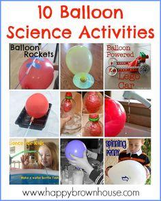 10 Fun Balloon Science Activities for Kids.