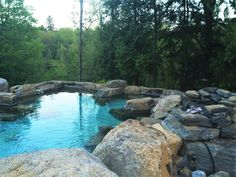 Our Nordic spa is truly a hidden gem in the Laurentians. Relaxation in the heart of nature awaits. Rest And Relaxation, In The Heart, Gem, River, Outdoor Decor, Nature, Naturaleza, Jewel, Gemstone