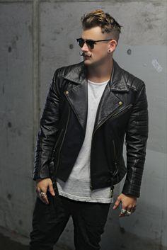 bangarangblog:  full leather jacket