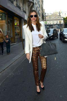 Miranda Kerr Is Having a Blast in Paris
