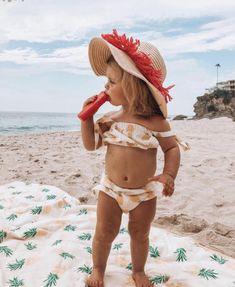 Patriotic Swimwear, Little Ones, Little Girls, Crochet Toddler Dress, Crochet Summer Tops, Cute Baby Clothes, Cute Babies, Kids Outfits, Bikinis