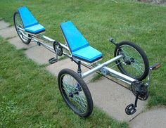 AtomicZombie Bikes, Recumbents, Trikes, Choppers, Ebikes, Velomobiles, and the Great Outdoors: From The Lost Files - Conduit Tandem Trike